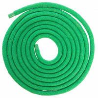 Скакалка для художественной гимнастики Lingo C-5515 3м цвета в ассорт., Зеленый