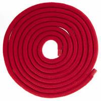 Скакалка для художественной гимнастики Lingo C-5515 3м цвета в ассорт., Красный
