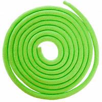 Скакалка для художньої гімнастики Lingo C-5515 3м кольори в асорт., Салатовий