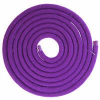 Скакалка для художественной гимнастики Lingo C-5515 3м цвета в ассорт., Фиолетовый