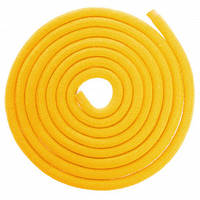Скакалка для художньої гімнастики Lingo C-5515 3м кольори в асорт., Жовтий