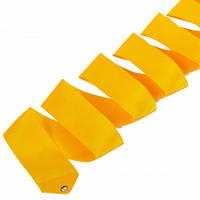 Лента для художественной гимнастики Lingo C-5517 6м цвета в ассорт., Оранжевый