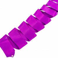 Лента для художественной гимнастики Lingo C-5517 6м цвета в ассорт., Фиолетовый