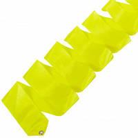 Лента для художественной гимнастики Lingo C-5517 6м цвета в ассорт., Желтый