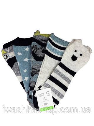 Стильные носки с принтами на мальчиков 1 - 2 лет, р. 19 - 22, Primark
