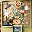 Готові інтер'єрні наклейки хеллоуїн Halloween декор на стіну Набір Череп і кістки ХЛ 1100х1500мм, фото 3