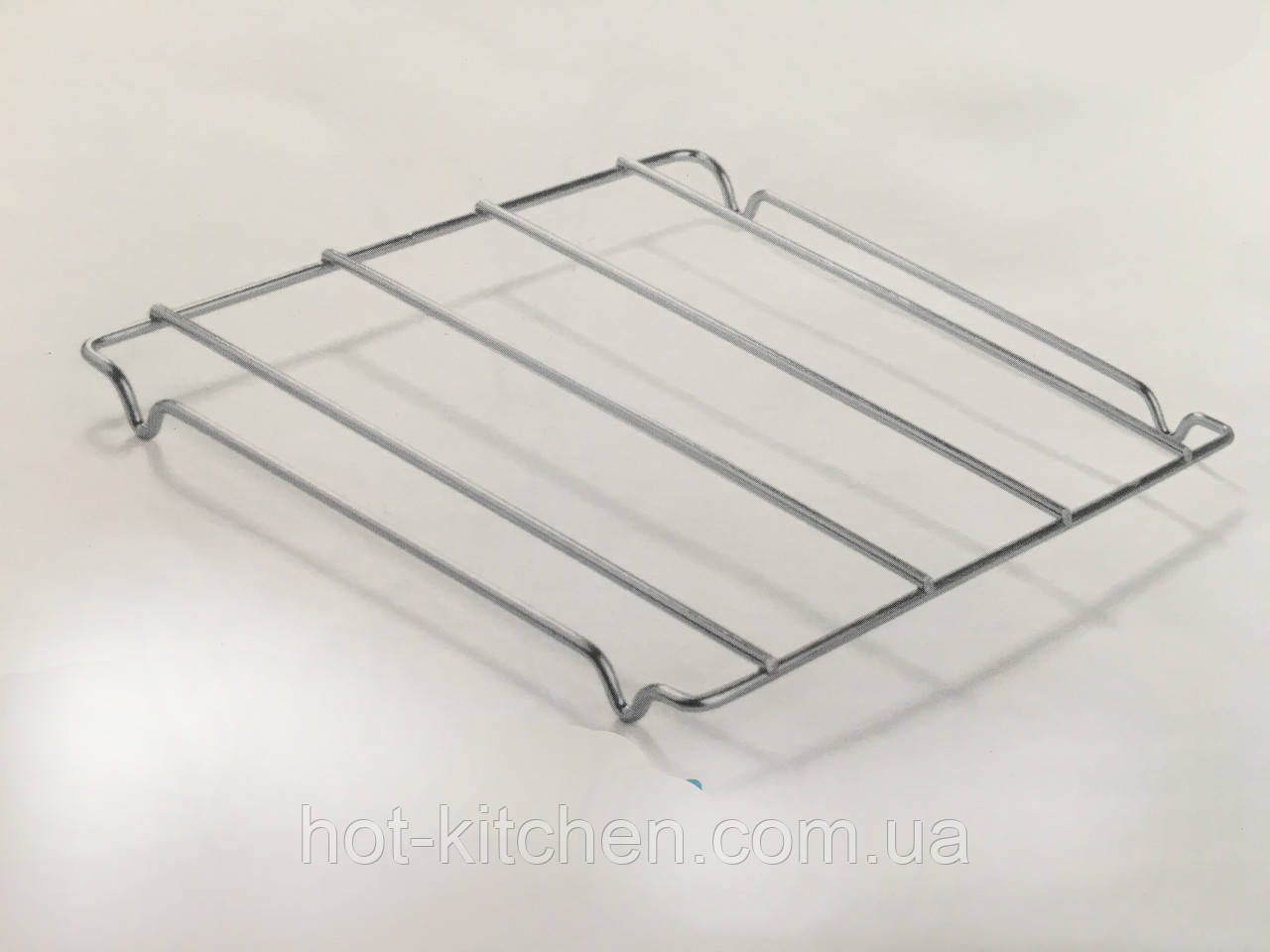 Подставка под горячее металическая 19х17х1