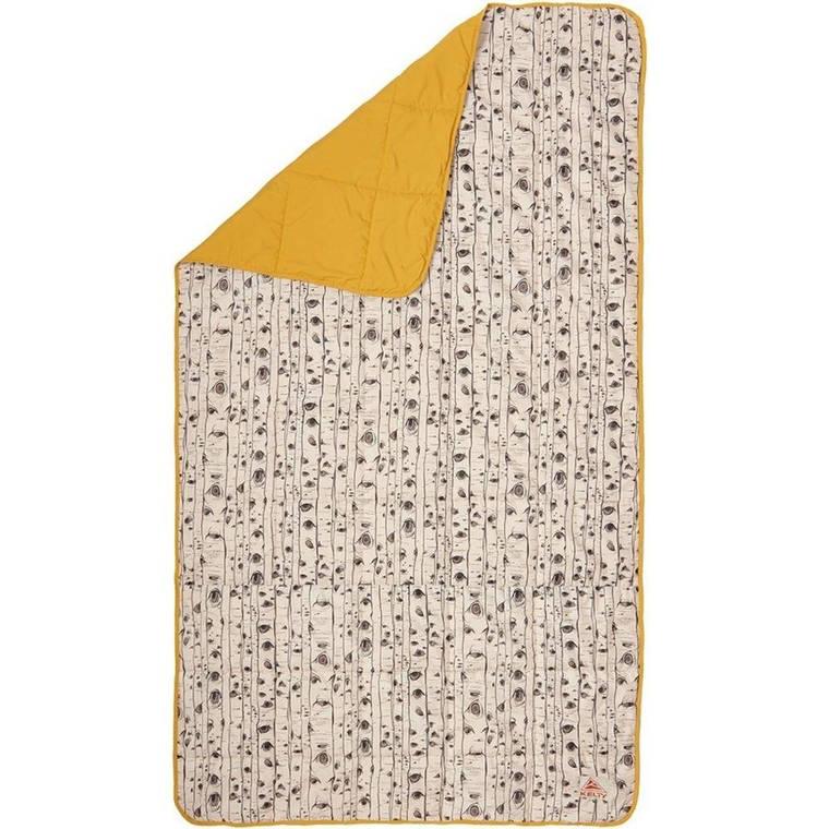Одеяло Kelty Bestie Blanket 192 х 107 см Бежевый з желтым, фото 2
