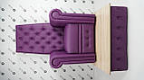 Педикюрне крісло трон Queen, фото 2