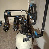 Монтаж оборудования для бассейнов