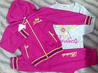Спортивный костюм тройка для девочки 5-10лет