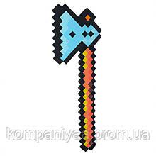 """Іграшкова зброя майнкрафт """"Сокира"""" A01 (матеріал EVA)"""