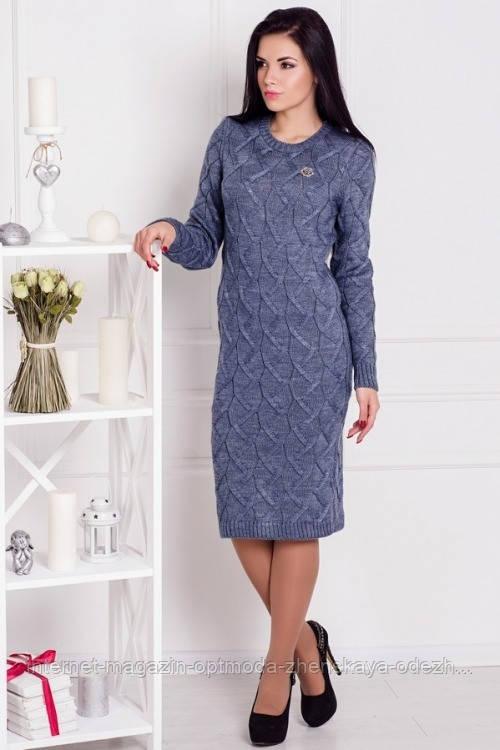 Сукня напіввовняна в'язане, розмір універсальний 42-48, забарвлення в ассортменте