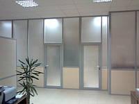 Офисные перегородки с тонированным стеклом