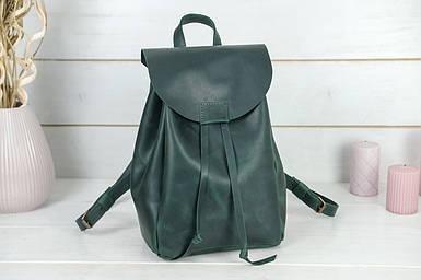 Жіночий шкіряний рюкзак Токіо, розмір середній, натуральна Вінтажна шкіра колір Зелений