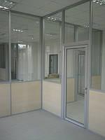 Изготовление и установка офисных перегородок