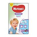 Подгузники-трусики Huggies Pants для мальчиков 5 (12-17 кг), 34 шт, фото 2