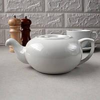 "Чайник-заварник  фарфоровый ""Орёл"" 600мл HLS (HR1509)"