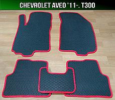 ЄВА килимки на Chevrolet Aveo T300 '11-. EVA килими Шевроле Авео Т300