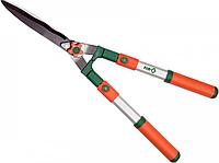"""Ножиці телескопічні для стрижки кущів """"Flo"""" 650 - 860 / 235 мм"""