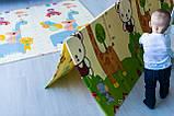 """Дитячий складаний розвиваючий термо килимок """"Зоопарк - Ростомір"""" 200х150х1см (232) Int, фото 10"""