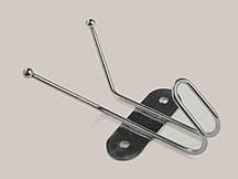 Вешалка металическая  3 гачка 11,6х6х4