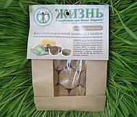 Сухие корни ростков пшеницы с медом (пластины), 10 шт.