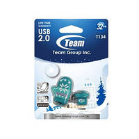 USB Flash Drive 4Gb Team T134 Green водонепроницаемая