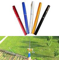 Карманная мини портативная удочка Pocket Pen Fishing Rod с катушкой
