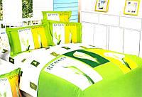 Постельное белье Le Vele Сатин семейный EVER GREEN-GREEN
