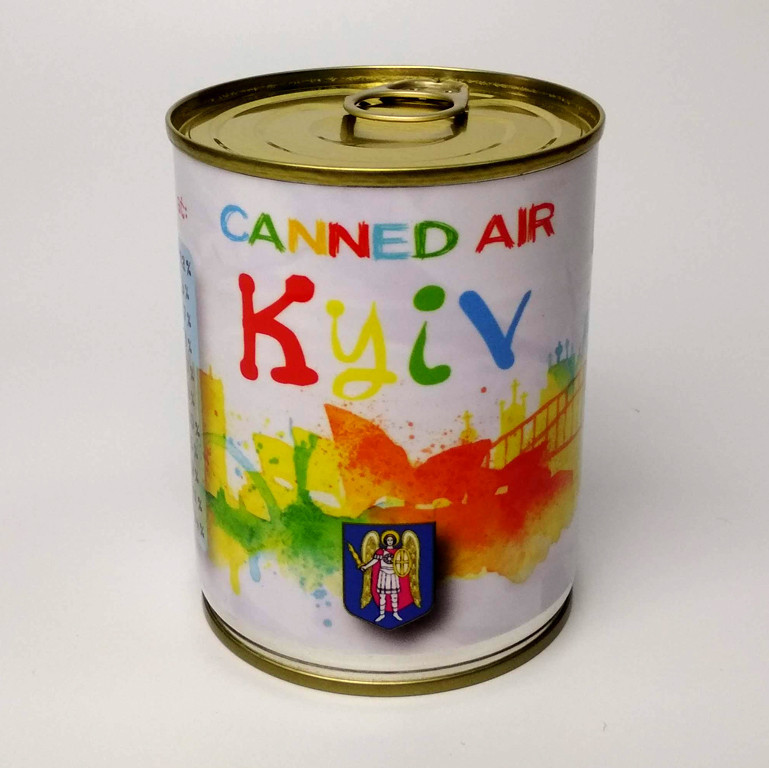 Canned Air Keiv (Київське повітря) — найкращий сувенір зі столиці України