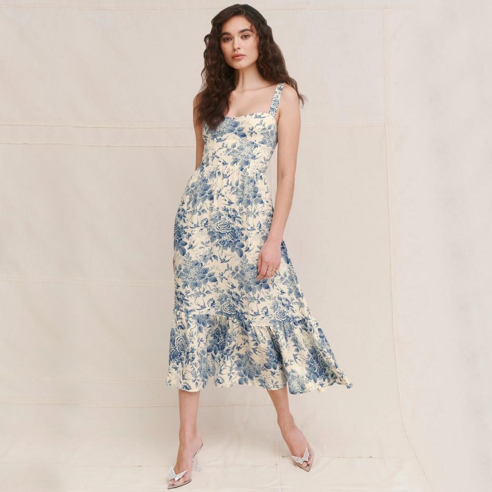 Сарафан жіночий з глибоким вирізом Breeze Berni Fashion (S)