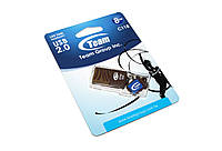 USB флеш накопитель 8Gb Team C118 Brown