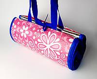 Пляжная подстилка-сумка, коврик для пляжа, покрывало для пикника 145*165 СМ, фото 1