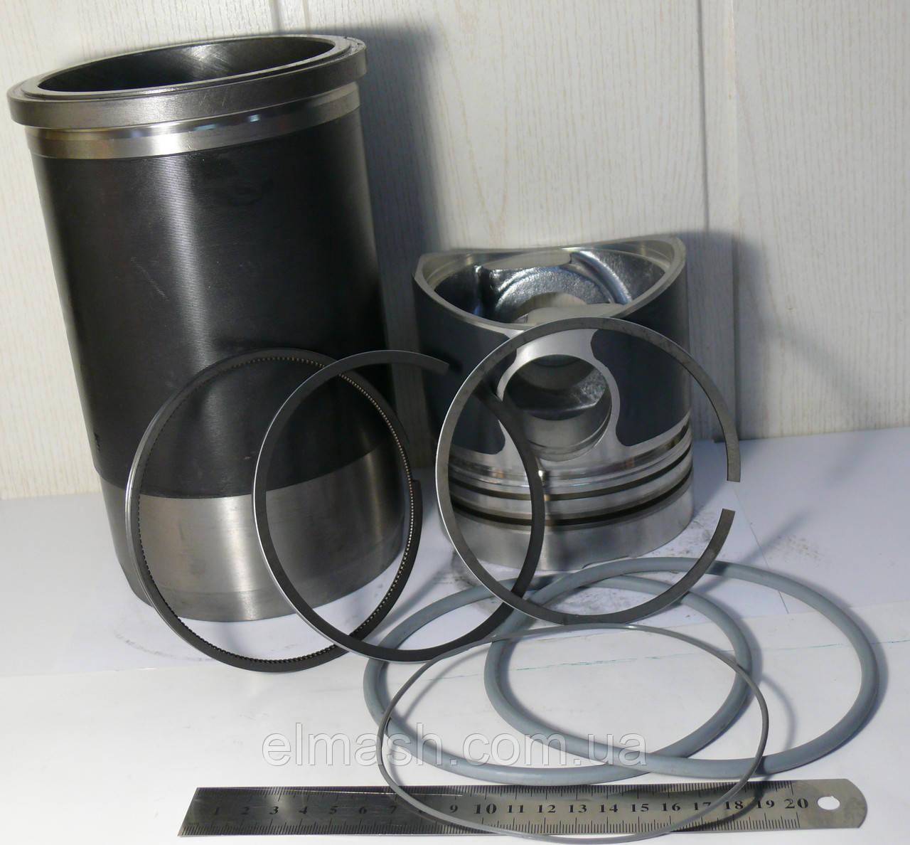 Гильзо-комплект КАМАЗ 740 (ГП-граф. с рассек.+Кольца+Палец) ДАЛЬНОБОЙ П/К