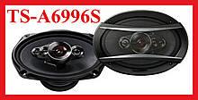 """Автомобільні динаміки-овали TS - A6996S 6""""x9"""" (163 x 237), 1200W, 5-ти смугові"""