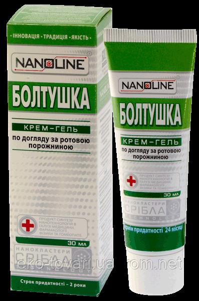 NanoLine Болтушка крем-гель для рта