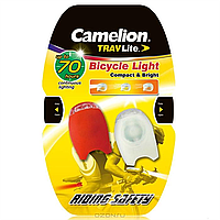 Фонарик для велосипеда camelion s760-2cr2032bp2 2 шт/уп