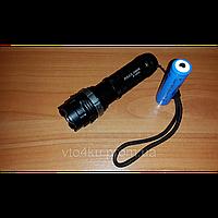 Фонарь police bl-q8483 xpe , ЗУ сеть+выносная кнопка (bl-q8483)