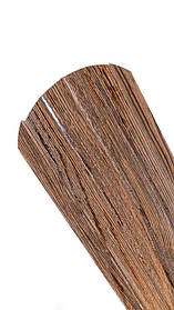 Штахетник штахети металевий темне дерево 3Д 105 мм Євроштахети металеві для забора