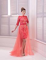 Вечернее платье-костюм (38) для выпускных вечеров и свидетельниц (цвета - в ассортименте)
