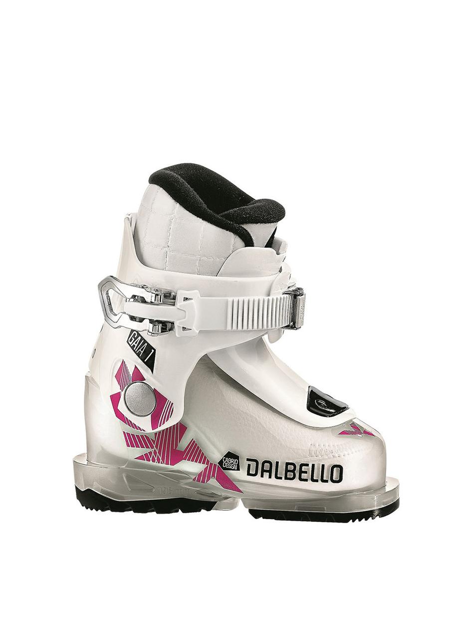 Гірськолижні черевики дитячі Dalbello Gaia 1.0 Junior 25,5 Білий з рожевим