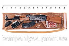 """Игрушечный автомат """"АК-47"""" с пистонами и аксессуарами Golden Gun 251"""