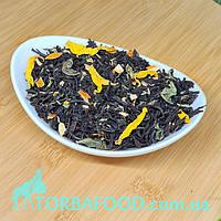 Чай чорний з чебрецем і м'ятою, 100г