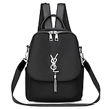 Рюкзак-сумка жіночий невеликий нейлон, фото 2