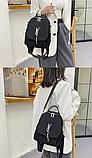 Рюкзак-сумка жіночий невеликий нейлон, фото 6