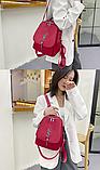 Рюкзак-сумка жіночий невеликий нейлон, фото 7
