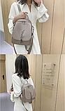Рюкзак-сумка жіночий невеликий нейлон, фото 8