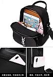 Рюкзак-сумка жіночий невеликий нейлон, фото 9