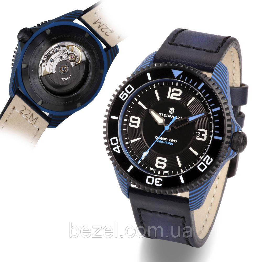 Мужские часы Steinhart Ocean 2 premium Carbon Blue 103-1196